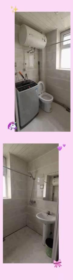 (转盘)清真安居2室1厅1卫900元/月64m²简单装修出租